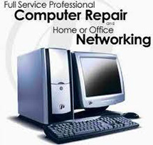 Full Service Professional Computer Repair and Home or Office Networking