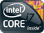 Intel Core i7 CPU logo